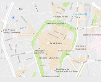 mapa Garwolin