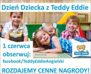 banner nauka angielskiego teddie eddie